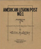 American Legion Post No. 1 march