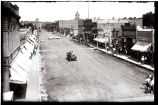 Race Meet Day, Main Street, Neligh, August 1912