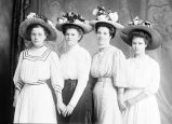 Maggie Jacobs and three unknown women