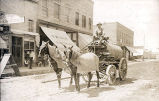 City water wagon, Crawford, Neb., 1909