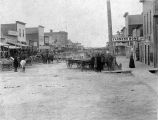 Downtown Crawford, Nebraska, 1895