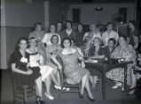 Group of women around a table