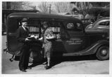 Bookmobile in Cozad, Nebraska