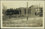 View of the Baker Electric Co. on 40th & Farnam Streets, after the tornado, Mar. 23, 1913,...