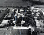 View of Beatrice State Home grounds looking north