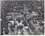 Aerial view of the Immanuel Deaconess Institute campus from the east in 1947