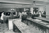 Omaha Central High School lunch room